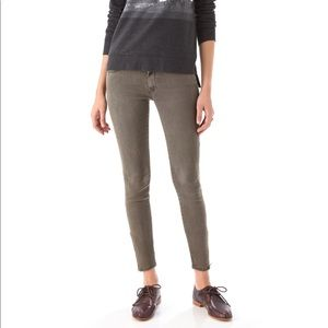 Mother The Looker Pop Sherwood Forest Skinny Jeans